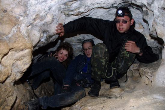Османчик показал ещё одну пещеру