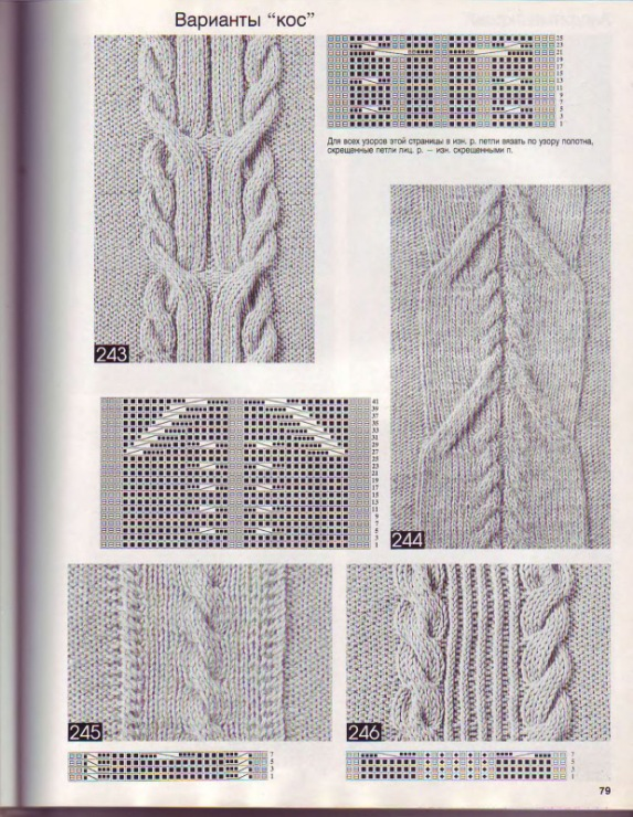 700 схем и образцов 2007 (вязание спицами). Прочитать целиком. В свой цитатник или сообщество