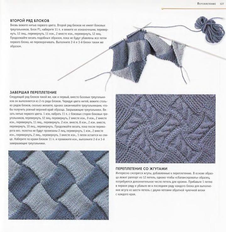 Планета Вязания Уроки вязания спицами для начинающих. Часть 49