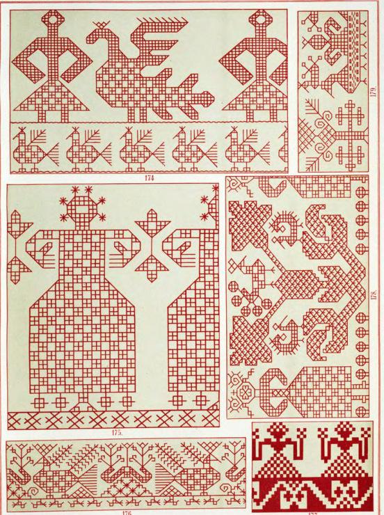 Виды орнаментов русской вышивки
