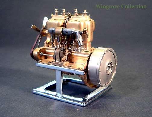 Модель двигателя С24-55 Нагеля