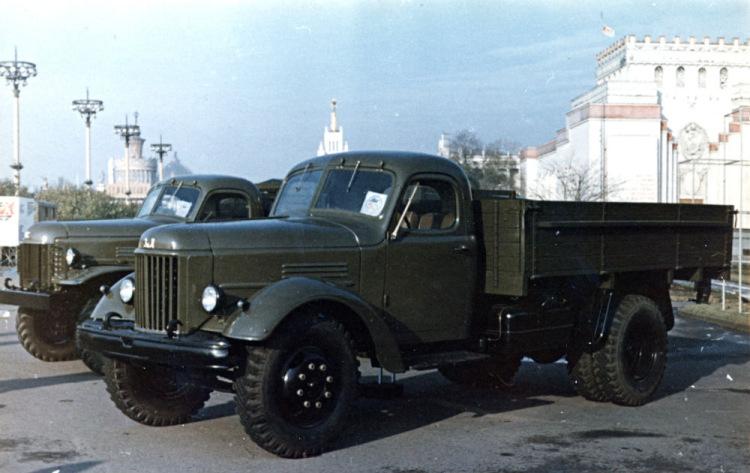 Модернизированная версия ЗиС-150 в 1957 году получила наименование ЗиЛ-164...