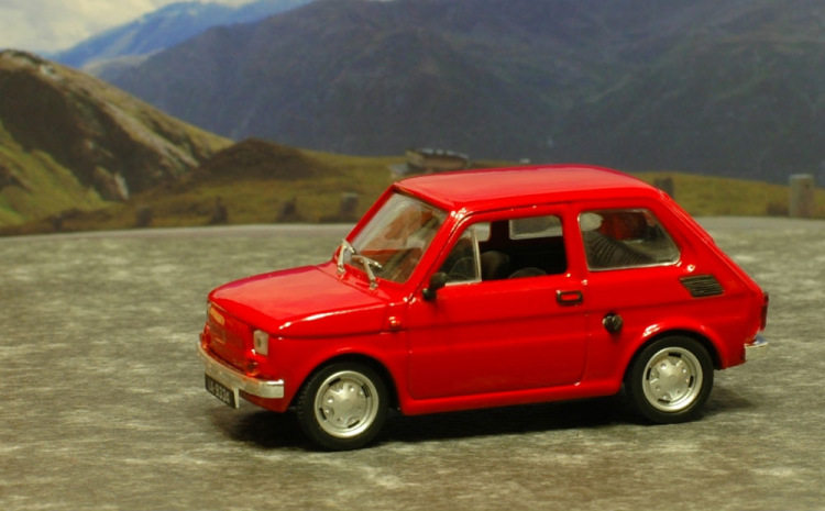 Kultowe Auta PRL-u: FIAT-126p
