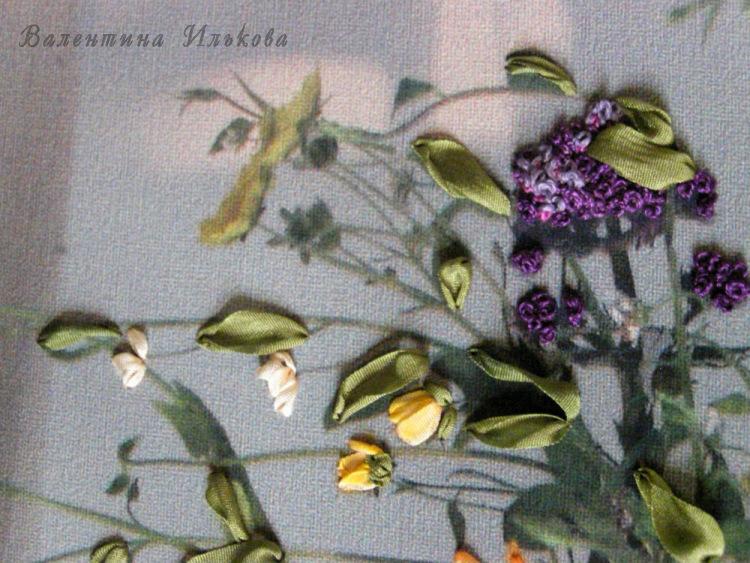 Вышивка лентой от валентины ильковой 29