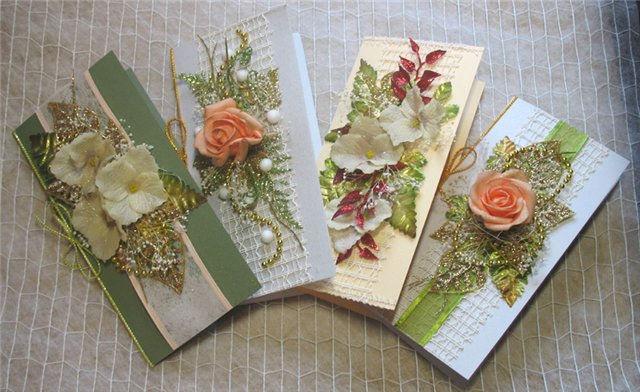 Купить открытки своими руками фото