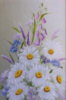 Букеты цветов вышивка крестом схемы.
