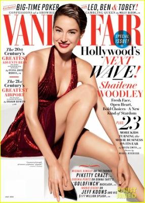 #Divergent : Shailene Woodley en couverture de Vanity Fair