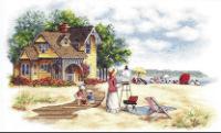 """Набор для вышивания  """"Seaside Retreat """" * Техника: счетный крест * Артикул: 35177 * Размер: 41 х 25 см * Производитель..."""