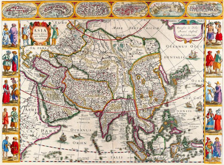 Часть 4 - Старинные карты мира