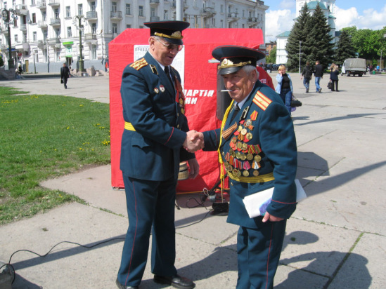 8 мая, преддверие праздника Дня Победы